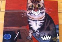 Cat Art Inspiration