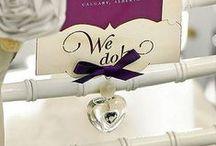 Wedding Ceremony Accessories / Elegant wedding ceremony accessories for the bride and grooms special day.