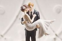 Wedding Cakes Accessories / Elegant wedding cake toppers, wedding cake accessories and wedding cake ideas.