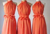 Bridesmaid Fashion / Elegant bridesmaid dress inspiration, ideas and tips.