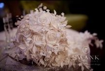 Paper Flower Wedding / If you love flowers and would like to incorporate them in a fancy yet original way, try to impress your guests with a paper flower theme for your wedding! To add more drama to your big day, choose a venue with a lot of personality and character. For this wedding our clients chose Angel Orensanz Foundation. This was the end result!