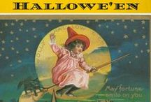 Vintage Halloween / Anything spooky, scary or kooky from back when Hallowe'en had an apostrophe in it!  Includes Vintage Dennison Bogie Books. / by Vintage Info Network