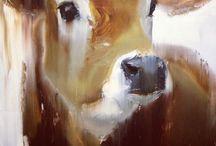 Koeien in de kunst