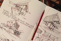 INTERIOR / ARCHITECTURAL SKETCHES
