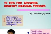 Natural Hair Education / Info graphics and more..