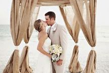 Beach Wedding Inspiration / Beach wedding accessories, ideas and tips for the elegant bride and her bridal party.