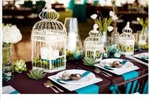 Love Bird Wedding Inspiration / Beautiful Love Bird Wedding ideas, accessories, decor and more for the elegant bride and her bridal party.