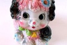 Vintage Things I Like / Kitsch, cutesy, vintage things I adore, including chalkware. / by Heather M