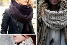 Scarves and Gloves.