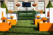 Corporate 10th Anniversary / Held on the lush, chic garden rooftop at 620 Loft & Garden, Rockefeller Center.
