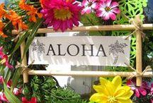 Hawaii / Leuke ideetjes voor de zomermarkt! Vooral leuke knutselwerkjes en versieringen.