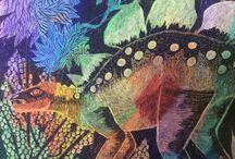Dinozaury i inne / Sztuka dziecka