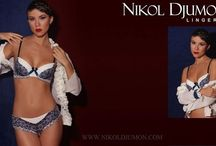Nikol Djumon / NIKOL DJUMON is a lingerie company with a strong family bond between past and present, which is reflected in the company name. The first part of the brand was established on behalf of the owner Nikolay Birkjukov and the second is derived from a family legend, Madame Dumont, who lived in the 18 century in France. She was a talented Milliner and created handmade underwear for fashion conscious clients.  