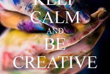 Be Creative o~{*~*}~o))>>>>