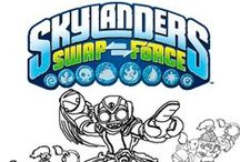 Skylanders Swap Force / Skylanders Swap Force pages mostly for my kids. Different Skylanders Swap Force coloring pages, cool drawings and possibly fun screenshots from the Skylanders Swap Force Game
