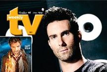 TV Weekly Magazine / Cover art for TV Weekly magazine