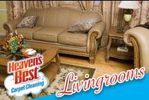 Living Rooms / It takes a lot of time, money, and upkeep to have your home looking nice. Don't do all the work yourself let Heaven's Best (one of the nations leading carpet cleaners) help you with cleaning tasks. Heaven's Best can renew and restore your carpets, hardwood floors, rugs, tiles, grout, upholstery, and leather. Give them a call today at: 772-464-7342
