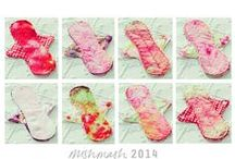 Modern Cloth Pads RUMP's / collection of reuseable cloth pads
