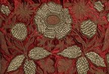 beautiful textiles / embroidery and patterns
