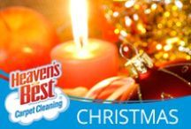 Have A Holly Jolly Christmas / Have Heaven's Best come and clean your carpets, tile and upholstery,  and wood floors before the holidays are upon us. They are rated as one of the #1 Carpet Cleaning companies in the nation. Their low moisture formula is quick powerful and your carpets will dry in 1 hour. Give Larry Justice a call today. 772-464-7342