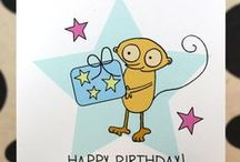 Hand Drawn Birthday Cards! / A selection of our cute hand illustrated greeting cards!