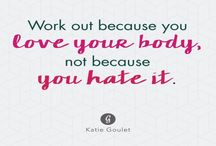 fitness/lifestyle motivation / Sometimes all it takes is one phrase to get you on track again :) Enjoy x