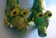 Animals / Animal craft activities, including how to make bird feeders and bird houses