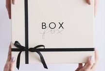 BOXFOX / It's our goal to make gifting effortless and elegant—no post office lines, and certainly no kitsch. Which is why we handle everything from curating every item on our site, to topping each BOXFOX with a handwritten note and packing & shipping by hand from our LA warehouse.