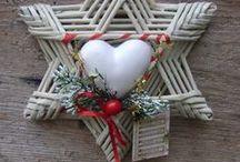 papierové pletenie / tvorenie s papierových ruličiek-košíky,svietniky,hviezdy