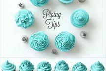 Tips til kage/cupcake