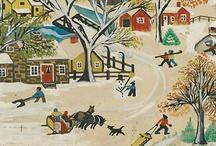 Maud Lewis / Folk Art of Maud Lewis