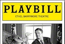 Playbills / I've been lucky enough to see these shows on Broadway.