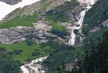 Water Subject to Gravity / Waterfalls are Nature's way of replenishing the oceans the slow and scenic way.