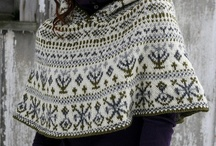 Hand Knit Wraps, Shawls and Capes