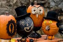 DIY Pumpkin Decorating / Glitzy and Bedazzled, Spooky and Creepy, Carved and Painted