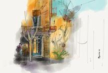 © Pauline Lugon - Made with Paper 53 / Illustrations pauline lugon à suivre aussi sur http://pole-in-blog.tumblr.com
