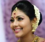 South Indian Bridal Makeup / Checkout the collection of south Indian bridal makeup pictures. TBG Bridal Store is an organization of south Indian bridal makeup artists specialized in makeup.  Call 9710408986, Email - tbgbridalstore@gmail.com or visit - http://tbgbridalstore.com/services/bridal-makeup-artist-and-hair-stylist/