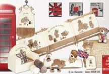 """Ourson LONDON / Voici notre petit ourson qui se relooke façon """"London Baby"""" !!"""