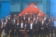 INLEADers @PepsiCo Bottling Unit, Greater Noida. / The International Business Management students of the July 2015 Batch got a chance to visit the PepsiCo Bottling Unit in Greater Noida and get an understanding about the Working of a brand like Pepsi. Here are some glimpses from the ‪‎Industry‬ visit.