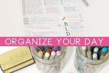 Organizing & planning / Este álbum tem por objectivo ajudar-me a mim e a ti a organizar os nossos dias de forma produtiva.