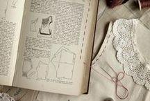 Objetos costura vintage
