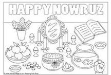 Nowruz Activities for Kids / Colouring pages, worksheets, puzzles and fun printable activities for kids who celebrate (or want to learn more about) Nowruz or Noruz.