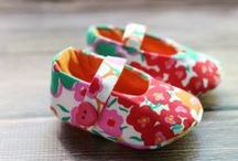 Zapatitos de tela para bebés