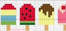 Cross Stitch- Hama Beads
