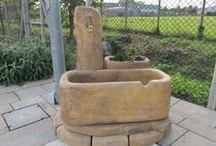 Realizzazioni fontane da giardino / Foto delle nostre fontane da giardino scattate direttamente dai nostri clienti.