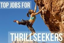 Career Options -any major / Green jobs, non-profits, travel, social media, introverts, outdoor, thrillseekers, etc.