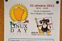 Linux Day 2011 / Linux Day 2011. Presentazione Giulio Concas e Daniele Sanna di e-Prot. Si tratta del software di Protocollo Informatico Open Source più diffuso in Italia di cui Flosslab è mantainer.