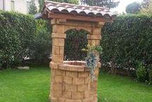Realizzazioni pozzi da giardino, pergole autoportanti e salotti / Foto dei ns pozzi inviate dai ns clienti.