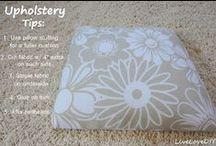 DIY Reupholster Tips / Furniture Reupholster Tips / by Eileen GBP#1 Fan