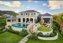 Sandy Bank Bay Sanctuary / A custom home located on the beautiful caribbean island of St. Kitts.  Photography by Meredith Brower Photography